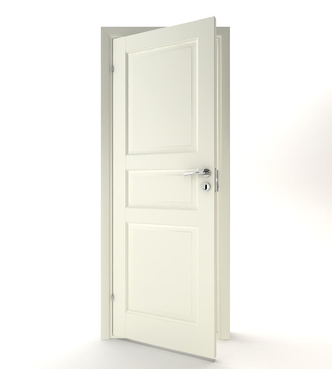 Dörrfolie spegeldörr
