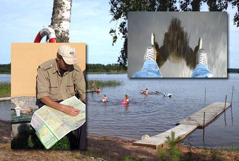Upplev Svartådalen. Bada, vandra, fiska, vila, bo i Västmnaland. Turistinformation.