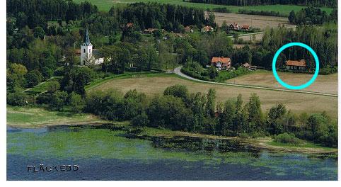 Fläckebo kyrka och Fläckebo orgelmuseum i Svartådalen, Västmanland