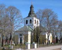 Västerfärnebo kyrka i Svartådalen, Västmanland